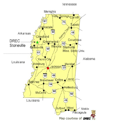 SRAC - State of mississippi map